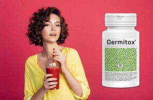 germitox, femeie, detox shake