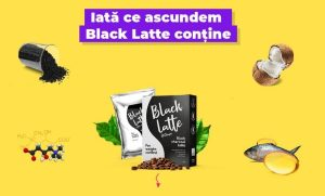 black latte, ingrediente