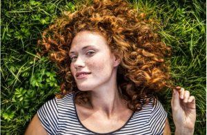 îngrijirea pielii, femeie, iarbă