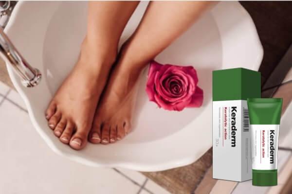 îngrijirea pielii, femeie, cremă, infecție fungică, keraderm