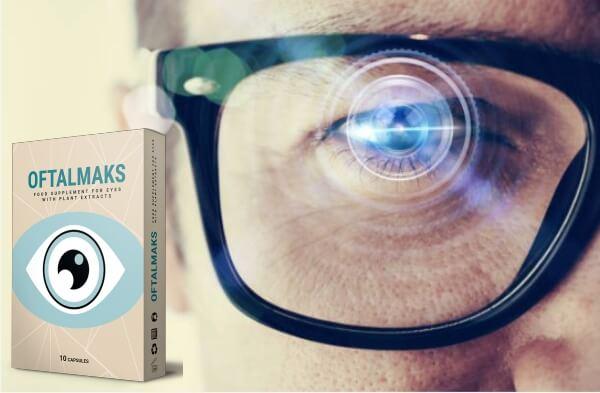 oftalmaks capsule, ochi, vedere