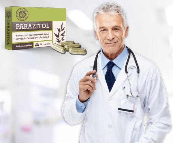 capsule de detoxifiere, anti-paraziți