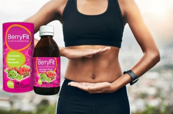 berryfit, picături, slăbire, femeie