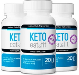 Keto Eat & Fit Capsule