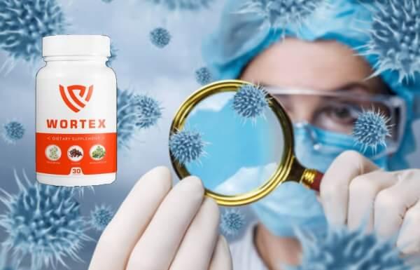 wortex capsule  detoxifiere paraziți