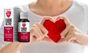 CardioActive Picături – Formulă pentru o tensiune arterială sănătoasă și un sistem cardiovascular eficient