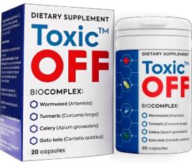 Toxic Off 20 Capsule România
