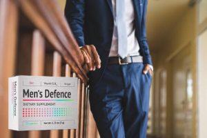 Men's Defence – Capsule cu Bio-Formula pentru influențarea sentimentului intim și rafale!