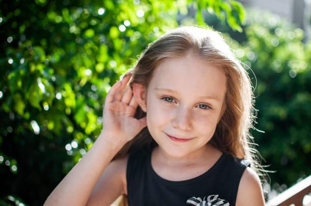 copil, urechi, auz